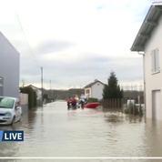 Les images des inondations dans le Sud-Ouest de la France