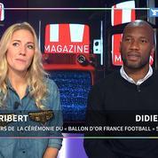 Didier Drogba et Sandy Héribert : « Un joueur français peut remporter le Ballon d'Or »
