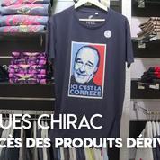 Chirac : les ventes de produits dérivés explosent