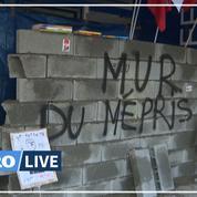 Bordeaux: des enseignants murent l'entrée du rectorat
