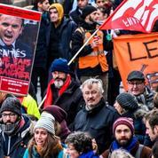 Retraites: revivez la manifestation du 6 janvier à Paris