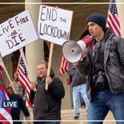 États-Unis: une grande manifestation organisée contre le confinement dans le Michigan