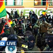 Des policiers boliviens se mutinent contre Evo Morales