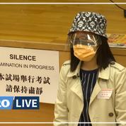 Covid-19: masques et contrôles de température lors d'examens à Hongkong
