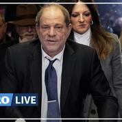 Affaire Weinstein: le jury est divisé sur deux chefs d'accusation