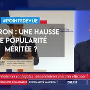 Macron : une hausse de popularité méritée ?