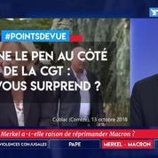 Marine Le Pen au côté de la CGT : ça vous surprend ?