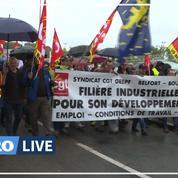 GE Belfort: manifestation en soutien aux employés du site