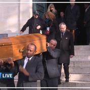 Les images des obsèques d'Anna Karina, célébrées au cimetière du Père Lachaise