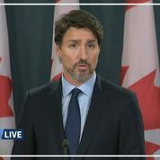 Boeing abattu : le Canada souhaite que l'Iran indemnise les familles des victimes