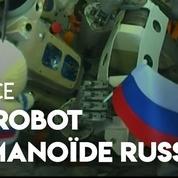 Un robot humanoïde russe dans l'espace