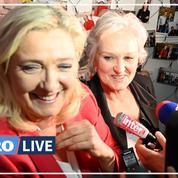 Municipales: Marine Le Pen affiche son soutien à sa sœur Marie-Caroline à Calais
