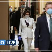 Coronavirus: masqué, le Congrès américain vote un nouveau plan d'aide massif