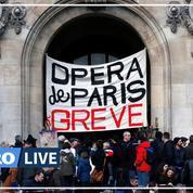 Retraites: la Marseillaise de l'orchestre de l'Opéra de Paris lors de sa manifestation
