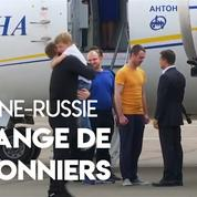 L'Ukraine et la Russie procèdent à un échange de prisonniers