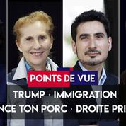 Points de vue du 25 septembre : Trump, immigration, #balancetonporc, droite primaire