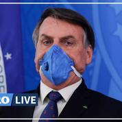 Coronavirus: le Brésil maintient l'hydroxychloroquine, suspendue par l'OMS