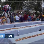 Au Mexique, une galette longue de 520 mètres pour l'Epiphanie