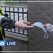 Dunkerque: porte-à-porte pour distribuer 100 000 masques avant le déconfinement