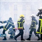 28 janvier: au cœur d'une journée de tensions entre pompiers et forces de l'ordre