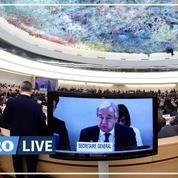 «Les droits de l'Homme sont pris d'assaut», s'inquiète le secrétaire général de l'ONU