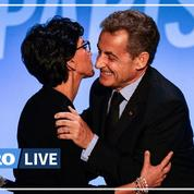 Municipales: Nicolas Sarkozy accompagne Rachida Dati dans la dernière ligne droite