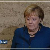 30 ans après la chute du mur de Berlin, Merkel appelle l'Europe à défendre la démocratie
