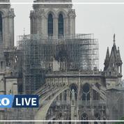 Coronavirus: prières du Vendredi Saint dans Notre-Dame de Paris vide, un an après l'incendie