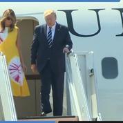 Les Trump sont arrivés à Biarritz pour le sommet du G7