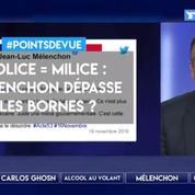 Police = milice: Mélenchon dépasse-t-il les bornes?