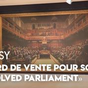 Record battu aux enchères pour l'oeuvre de Banksy «Devolved Parliament»