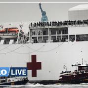 Découvrez le «USNS Comfort», l'immense navire-hôpital militaire déployé face au Covid–19