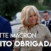 «Muito obrigada» : Brigitte Macron remercie les Brésiliens qui l'ont soutenue