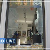 États-Unis: après les pillages, les boutiques new-yorkaises constatent les dégâts