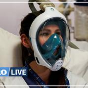 Des masques de plongée Decathlon reconvertis en respirateurs