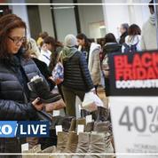 «Black Friday»: la ruée sur les soldes à New York avec un jour d'avance