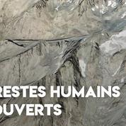 Alpes : de possibles restes humains d'un alpiniste ont été découverts