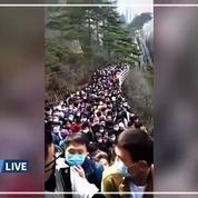 Des dizaines de milliers de Chinois déconfinés prennent d'assaut un grand site touristique
