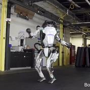 Le robot Atlas de Boston Dynamics réussit un enchaînement de gymnastique