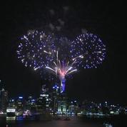 Nouvel An: tour du monde des feux d'artifice