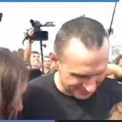 Échange de prisonniers Ukraine-Russie : les premières images d'Oleg Sentsov