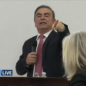 Carlos Ghosn: revivez ses explications en conférence de presse