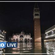 Une marée haute exceptionnelle submerge Venise