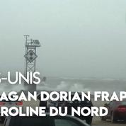 États-Unis : l'ouragan Dorian frappe la Caroline du Nord