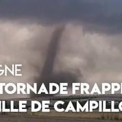 Une tornade frappe la ville espagnole de Campillos