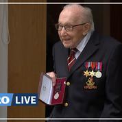 Le «Captain Tom», nouveau héros des Britanniques, nommé colonel pour ses 100 ans