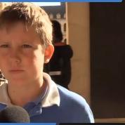 Témoignage d'un enfant de 12 ans venu rendre hommage à Jacques Chirac