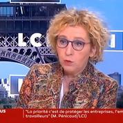 Coronavirus: «60 000 salariés» au chômage technique, indique Muriel Pénicaud