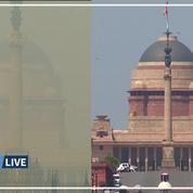 Avant/après: en Inde, les effets du confinement sur la pollution de l'air
