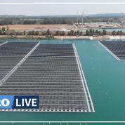 À quoi ressemble la première centrale solaire flottante de France?